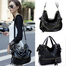 Fashion Women Handbag Shoulder Bag Tote Purse Faux Leather Messenger Hobo Bag