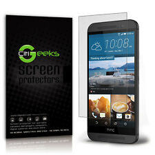 CitiGeeks® HTC One (M8) Screen Protector Anti-Glare Matte Skin Saver [10-Pack]