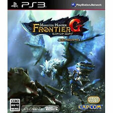 Monster Hunter PS3 Import Japan     hunter frontier G