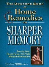 The Doctor's Book of Home Remedies for Sharper Memory-ExLibrary