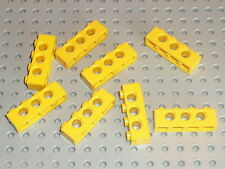 Barres perforées LEGO TECHNIC yellow  bricks with holes 1 x 4 ref 3701