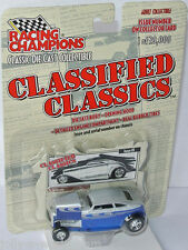 Racing Champions - 1932  CUSTOM SPEEDBACK blue/silver - 1:64 Classified Classics