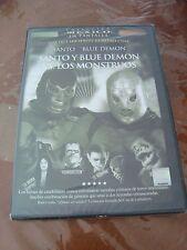 SANTO Y BLUE DEMON VS CONTRA LOS MONSTRUOS  all Region dvd NEW VAMPIRO FRANKY