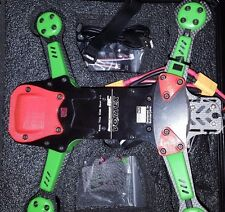 Vortex 250 Pro by ImmersionRC 5 Piece Skid Plate Set 3D Printed RED