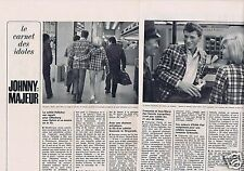 Coupure de presse Clipping 1964 Johnny Hallyday   (2 pages)