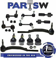 2002 Chevy Trailblazer Inner Tie Rod Ball Joint Sway Bar Link Rack End w/14mm