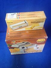 MARCATO ATLAS 150 PASTA MACHINE w/ PASTA BIKE & PAPPARDELLE ATTACHMENT
