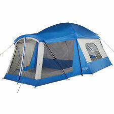 Wenzel 16'x11' Klondike 8 Person 3 Season Screen Room Camping Tent, Blue | 36424
