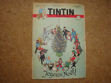 1949 Tintin Journal with Herge cover illustration & Land of Black Gold Eps.