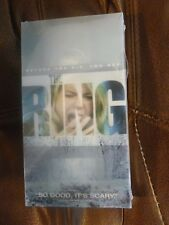 The Ring VHS New  Unopened Movie Free Very Quick Careful Shipping