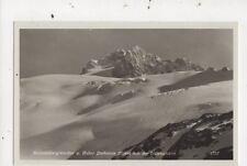 Hallstaedtergletscher & Hoher Dachstein Austria [1757] Vintage RP Postcard 822a