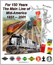 TIN SIGN - ILLINOIS CENTRAL RAILROAD 150th anniversary