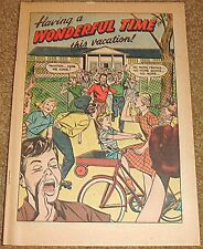 HAVING A WONDERFIL TIME THIS VACATION RARE GIVEAWAY PROMO COCA COLA VFNM 1955