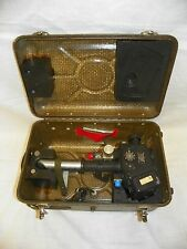 Kollsman Bubble Periscopic Sextant Aircraft Periscope #1471C-O2 w/Case Nice! #01