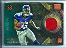 2014 Topps Valor Odell Beckham Jr. *Rookie* 2-Color Patch D # 14/25 N.Y. Giants