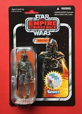Star Wars Vintage Collection Vc09 Boba Fett..1st Edition Card..Extremely Rare