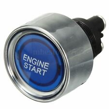 Blue LED Universal Car Auto Engine Start Push Button Illuminated Switch Starter