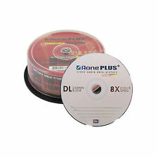 25 AONE Double Layer Branded Non Printable 8.5GB(8x) Gold Edition DVD+R DL