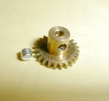 Brass Pinion Gear 22 Tooth with  48 Pitch .093 shaft Set Screw Style NOS 1960's