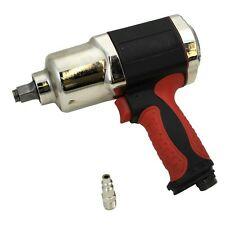 "1/2"" Composite Air Impact Gun Wrench Compressor Tool Twin Hammer Light Weight HD"