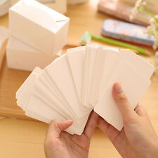Blank Kraft Paper Hang Tags Wedding Party Favor Label Price Gift Cards 100pcs