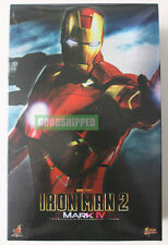 HOT TOYS IRONMAN 2 MARK IV 4 FOUR TONY STARK MMS123 1/6 ORIGINAL MISB RARE LAST