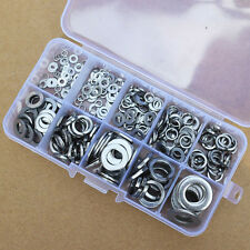 260pcs Stainless Steel Washer/Spring Washer Pad Assortment Kit M2.5-M10 + box