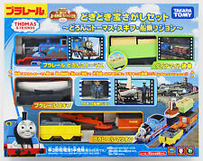 Tomy Pla-Rail Plarail Treasure Hunting Set Muddy Thomas and Skiff (858294)