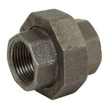 1 INCH MALLEABLE UNION BLACK IRON PIPE FITTINGS THREADED PLUMBING