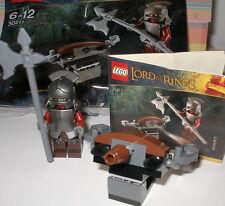 Lego 30211 Herr der Ringe Uruk Hai / Minifigur mit Waffe und Ballista OVP