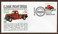 2016 OLD PICKUP TRUCKS ~ 4 GLEN CACHETS ~ FIRST DAY COVERS