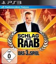 PlayStation 3 Sony Schlag den Raab Das 3 Spiel Deutsch TopZustand
