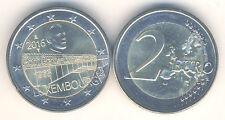 Moneda Conmemorativa 2016 Luxemburgo 50 Años Gran Duquesa Charlotte Puente
