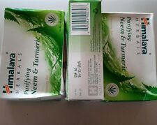 Himalaya herbals purifying neem&tumeric 3pk 4.4 oz bar soap