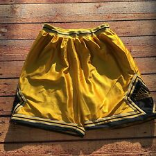 VTG 90s Adidas EQT Equipment SHINY Shorts XL Basketball Hip Hop Tre Foil OG Gym