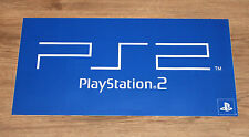 Playstation 2 PS2 promo Game Store XL Sticker 60x30cm
