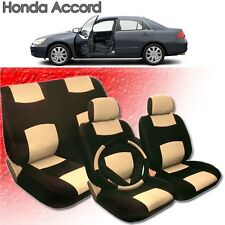 2001 2002 2003 2004 For Honda Accord PU Leather Seat Cover