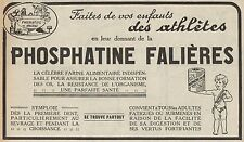 Y8925 Farine alimentaire PHOSPHATINE FALIERES - Pubblicità d'epoca - 1929 Old ad