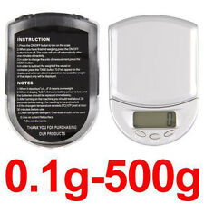 Hot Sell LCD Display Mini Digital Electronic Weight Balance Scales 500g x 0.1g
