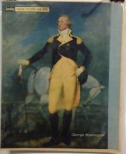 George Washington Insert Cover from New York's Picture Newspaper - Feb. 23, 1964