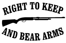 Keep Bear Arms Decal - Window sticker Car RV  Truck Hunting Outdoor Vinyl Decal
