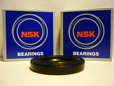 KAWASAKI ZXR750 J1 J2 91 - 92 OEM SPEC NSK REAR WHEEL BEARINGS & DISC SEAL