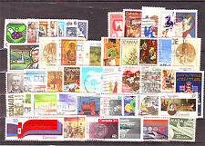Canada (North USA)-50 Diff. Used Good Condition Stamps #F12