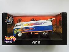 HOTWHEELS  1:18 CUSTOMIZED VW DRAG BUS KOMBI NEW CONDITION FREE POST AU