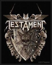 Testament-patch écusson-shield 8x10cm