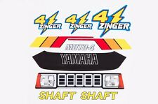 Yamaha YF 60 4-Zinger AMR Racing Graphic Kit Wrap Quad Decals ATV 1986