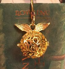 Golden Snitch Locket Bookmark Harry Potter Fans Cosplay Geekery