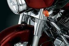 Kuryakyn 8635 Chrome Upper Fork Slider Covers Harley Dresser Trike 1996-2013