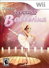 Let's Play Ballerina - Nintendo Wii New Sealed game