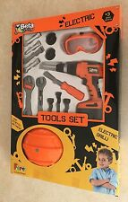Faro Beta Junior Electronic Tool Kit New Toy Ages 3+ Boys Electric Drill Machine